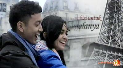 Foto Michelle Zudith dan Dimas Anggara (Love in Paris Season 2) SCTV
