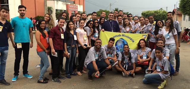 Juventude Missionária do Gama participa de missão em Uruaçu (GO)