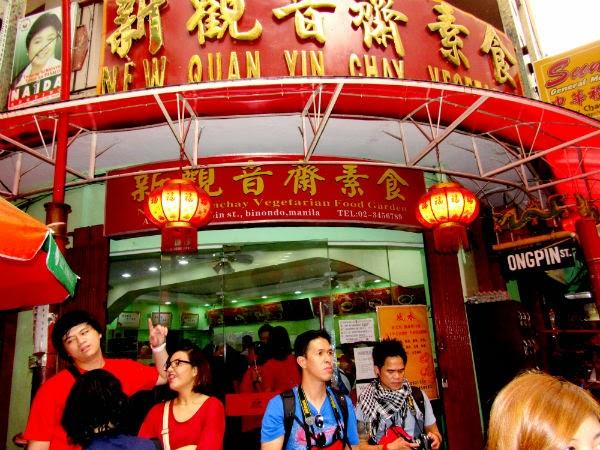 CHINATOWN: The New Quan Yin Chay Vegetarian Restaurant