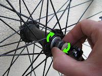 kontrola stanu kół rowerowych