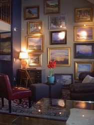 Artist's Feature Wall