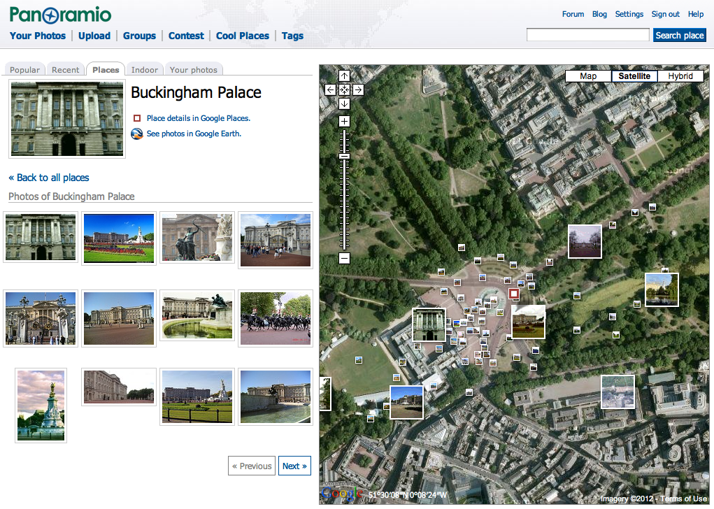 Google lat long easily snap your photos to a location in for Panoramio photos