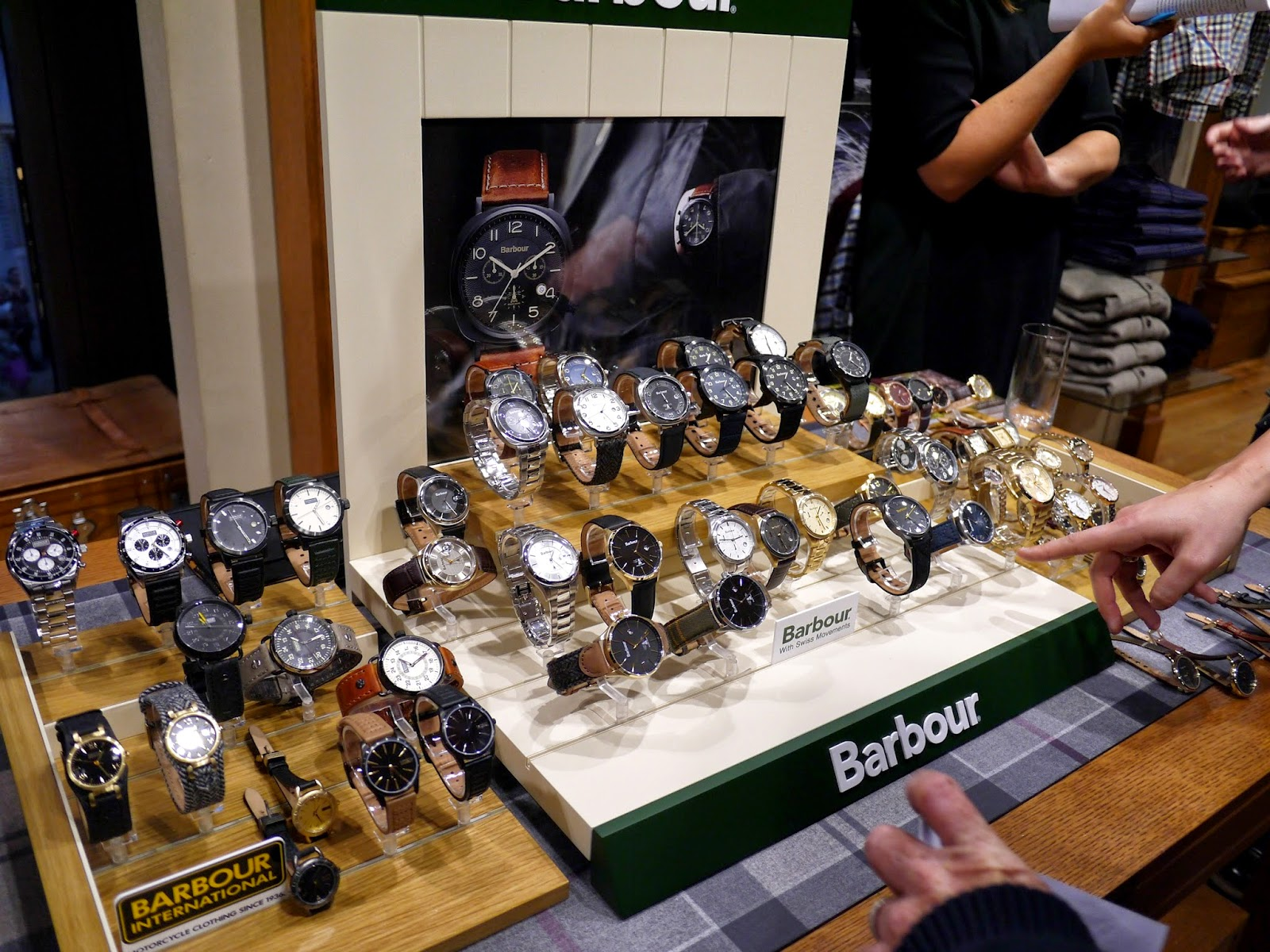 Barbour watch launch london