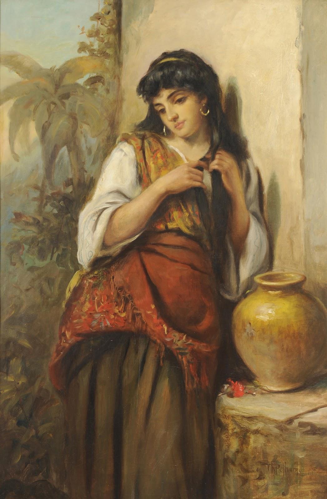Victorian British Painting Thomas Kent Pelham