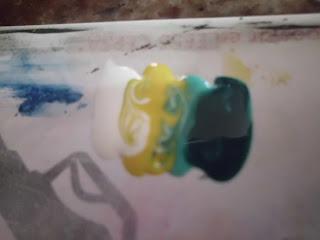 manicura degradada de colores