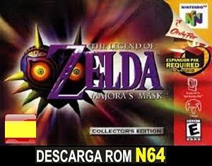 Legend of Zelda 2 - Majoras Mask ROMs Nintendo64 Español