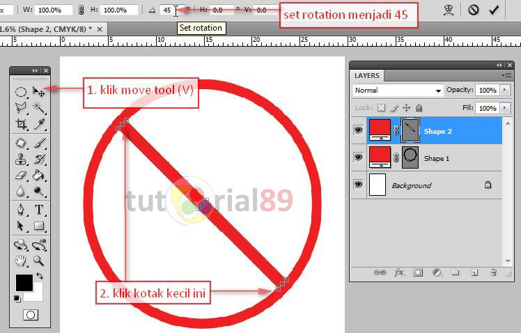 Cara membuat poster dengan photoshop