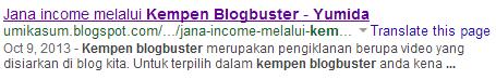 Ilmu Blogspot Blogger Malaysia