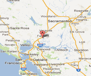 Earthquake today in Fairfield CA