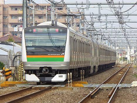 高崎線 快速アーバン 高崎行き E233系