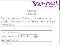 Cara membuat email yahoo via Hp