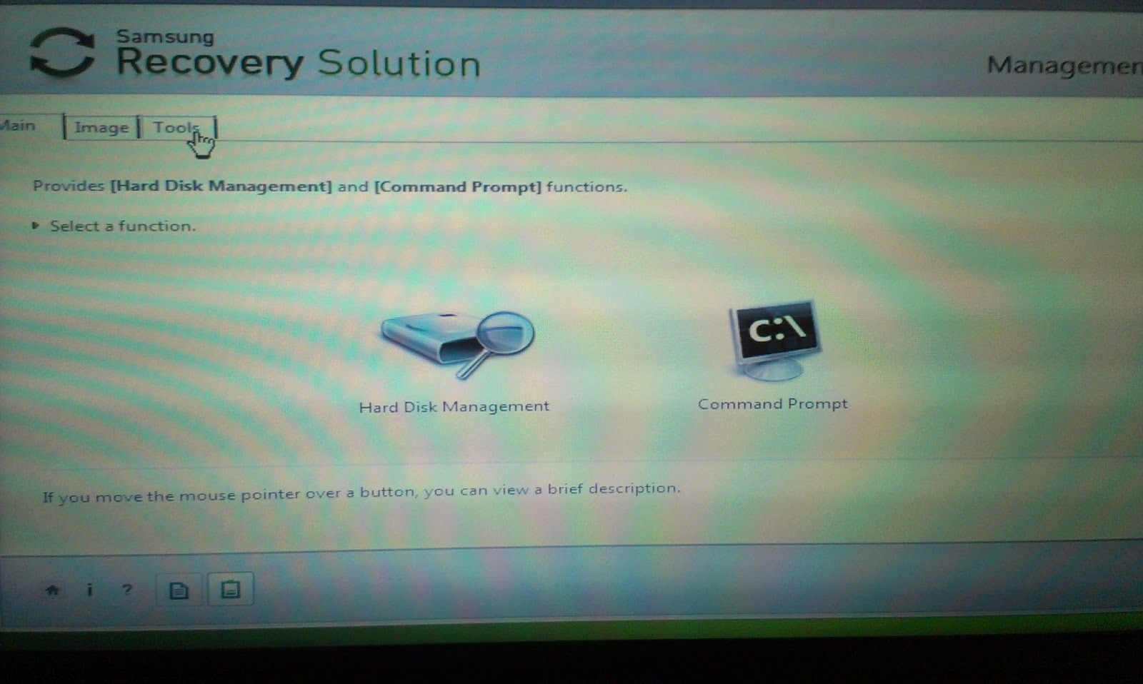 What is Samsung Recovery Solution 4