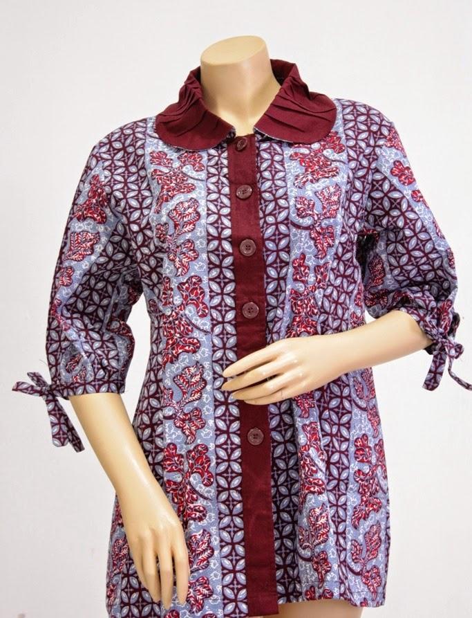 Model Baju Batik Modern Terbaru 2015 Gambar