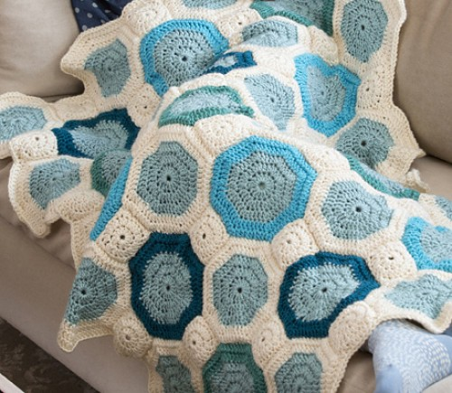 Mosaic Blanket - Free Pattern