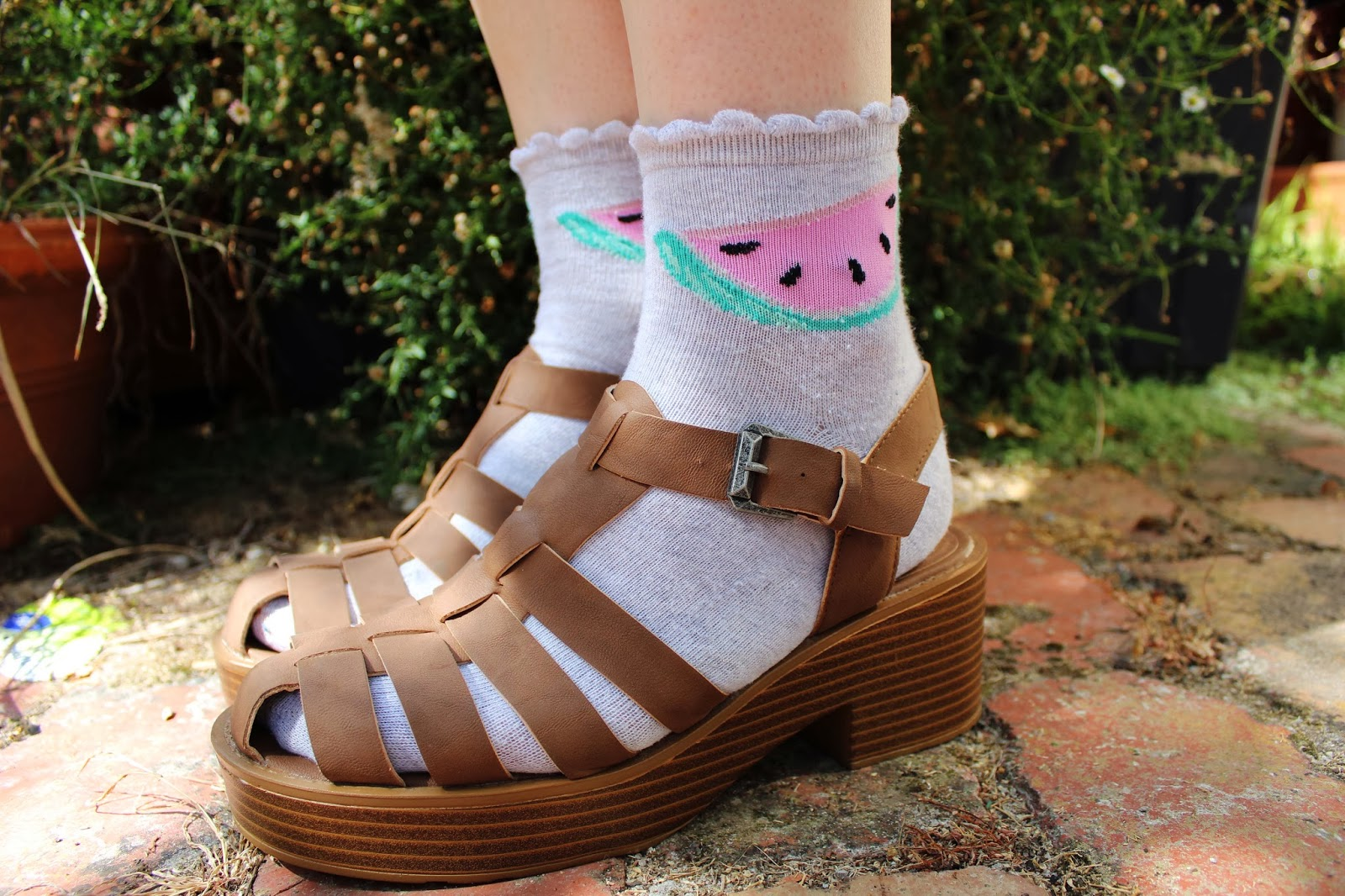 White sandals rubi shoes - The White Sandals Are Windsor Smith And The Brown Sandals Are London Rebel All The Socks Are From Cotton On Body Or Rubi Shoes Part Of The Cotton On