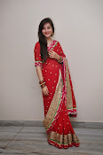 Priyal Gor Dazzling in Red Saree-thumbnail-20