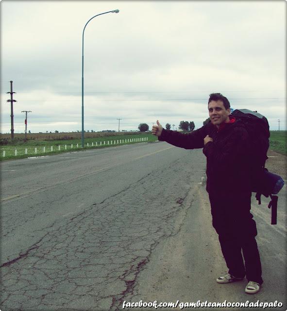 Autostop Argentina - Gambeteandoconladepalo