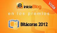 Iniciativa #EmpujonAiniciaBlog en los premios Bitácoras 2012