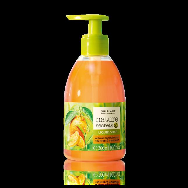 Жидкое мыло для рук «Чайное дерево и мандарин»