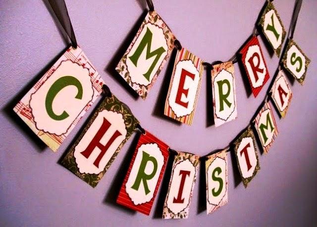 Cara membuat hiasan dinding untuk natal