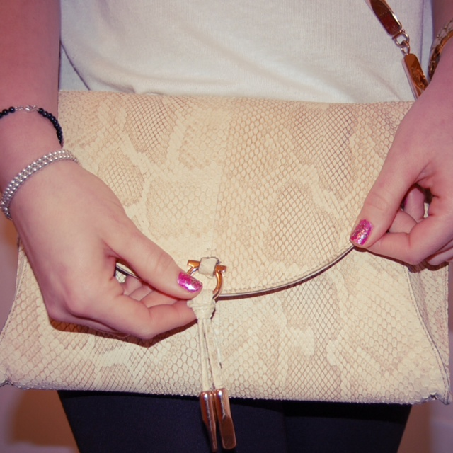 Salvatore Ferragamo snakeskin crossbody bag