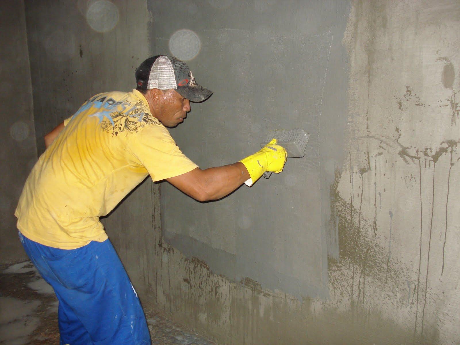 IMPERMEABILIZAÇÃO PARA SUA CASA : Impermeabilizando parede #B89913 1600 1200