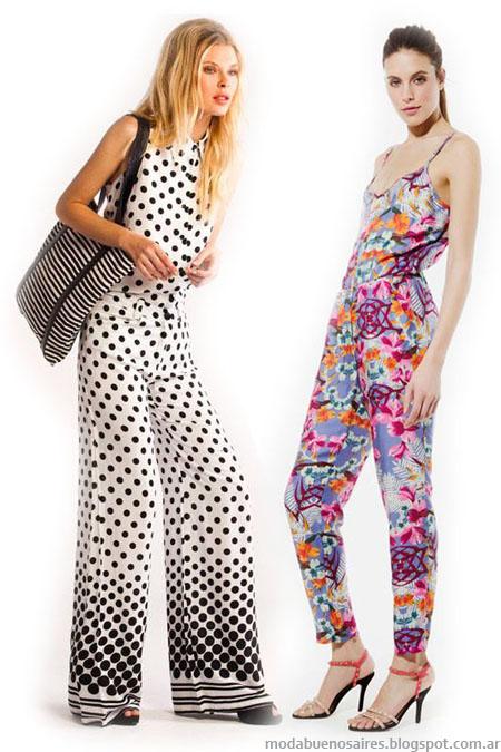Moda Verano 2014 moda monos 2014.