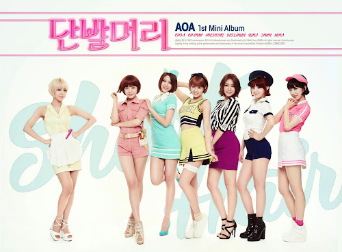 AoA Short Hair Teaser