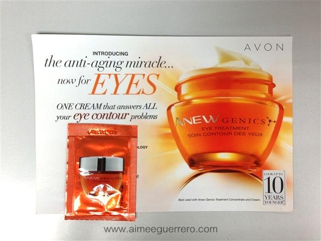 ANEW Genics Eye Cream   Avon Glamourbox