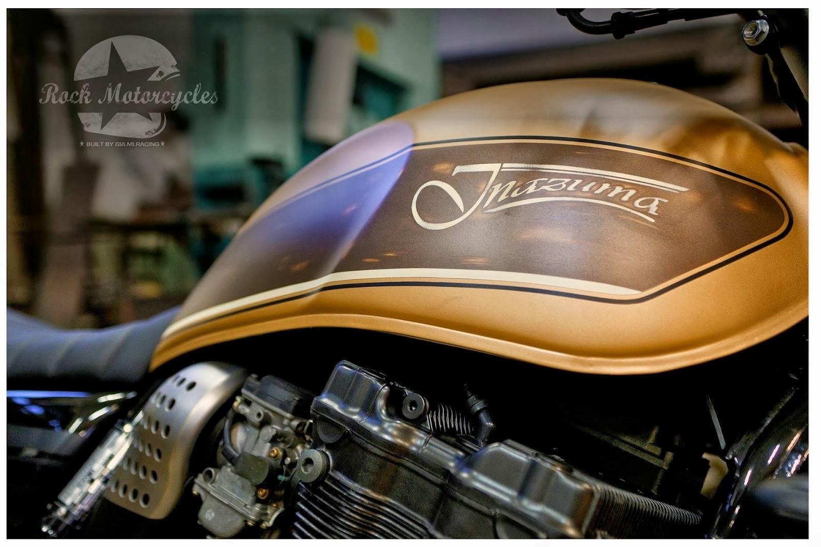 Milchapitas Kustom Bikes Suzuki Inazuma 750 By Rock