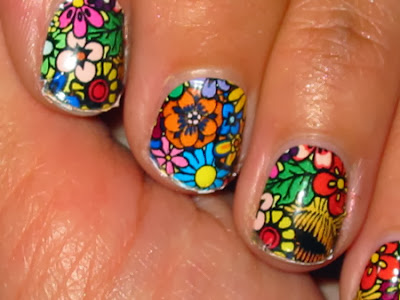 Awe-Inspiring Short Nail Design 2013