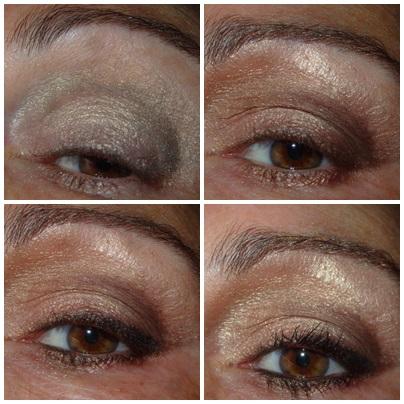 Para que te dure más tiempo y los colores se vean mucho más intensos hay que dar una capita de prebase antes de hacerte el maquillaje de ojos.