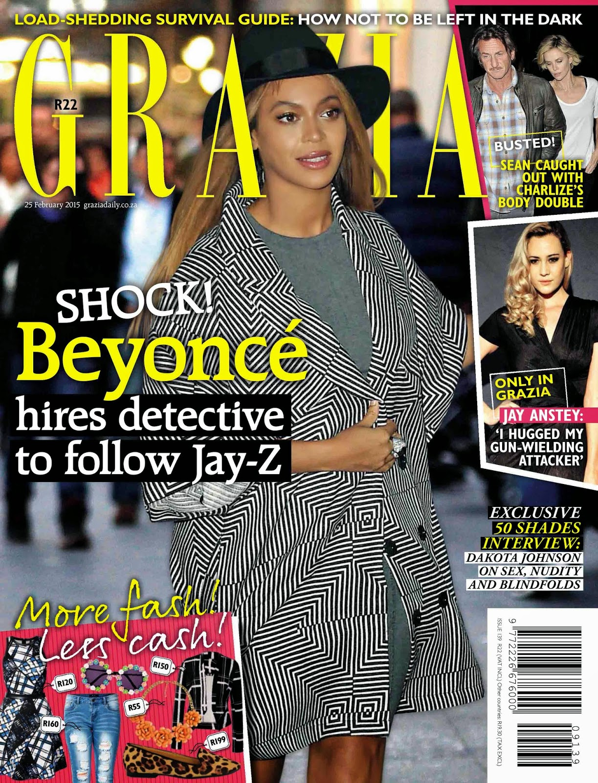 Singer, Actress , Businesswoman: Beyonce - Grazia South Africa, February 2015