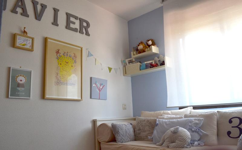 La nueva habitaci n de claudia y un sorteo para t na for Cama divan nina
