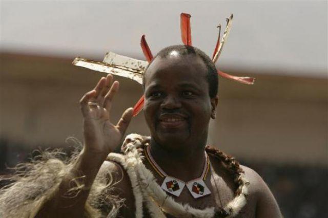 Mswati III, rey de Swaziland desde abril 25 de 1986