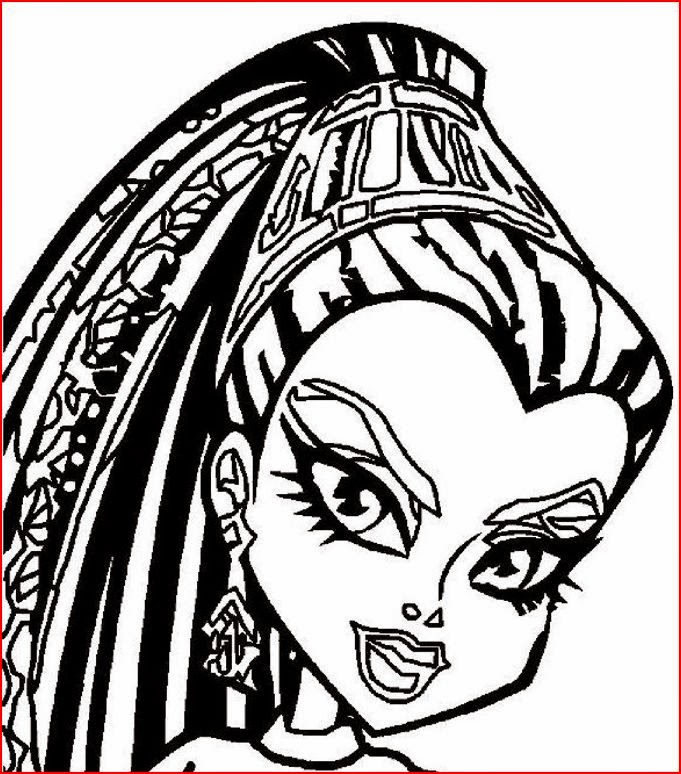 Monster High coloring pages coloring.filminspector.com