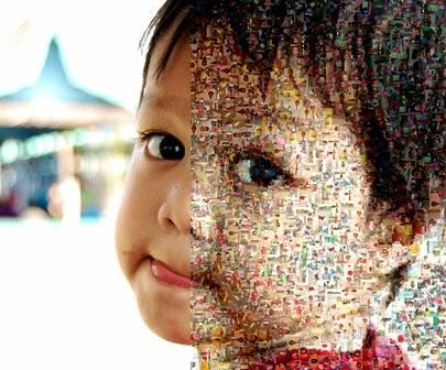 Hadiah Foto Mozaik