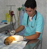 Dr Juan R. Pereira, nosso veterinário