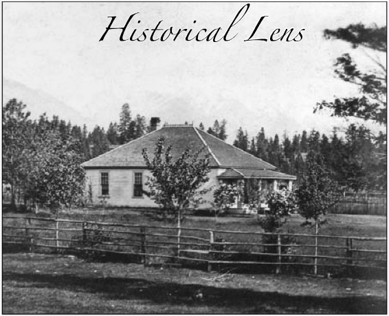 A.M. Chisholm's house in Windermere, British Columbia, Canada