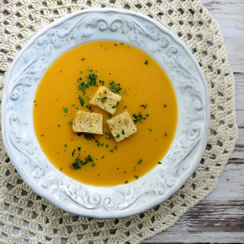 Savoring Time in the Kitchen: Butternut Squash, Apple, and Leek Soup