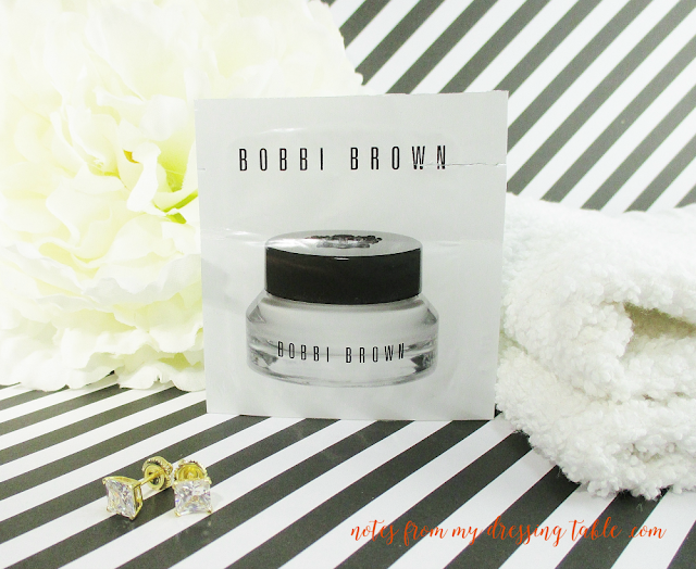 skin care sample extravaganza bobbi brown eye cream notes from my dressing table