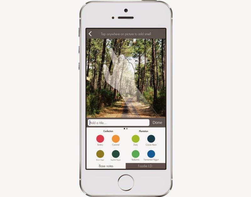 oPhone manda mensajes con olor