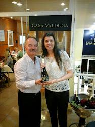 Momento Casa Valduga com João Valduga (proprietário da vinícola Casa Valduga)