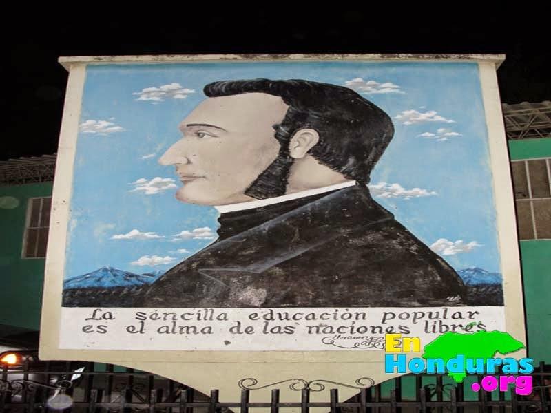 Pintura Francisco Morazan