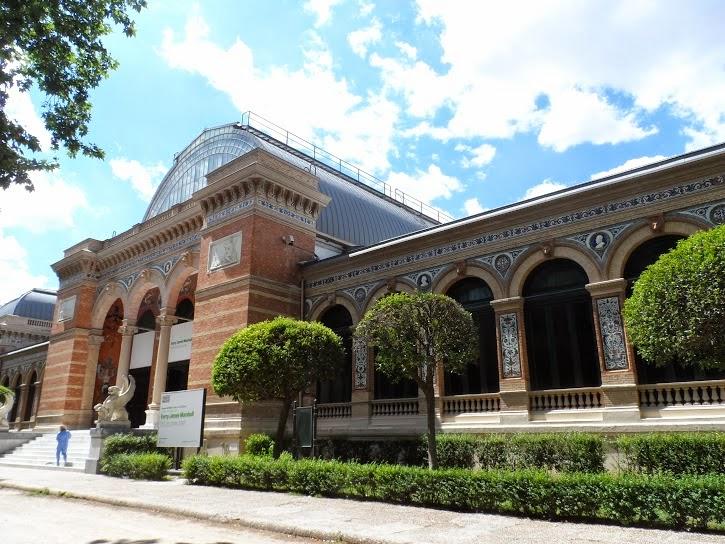 palacio Velazquez Retiro Madrid
