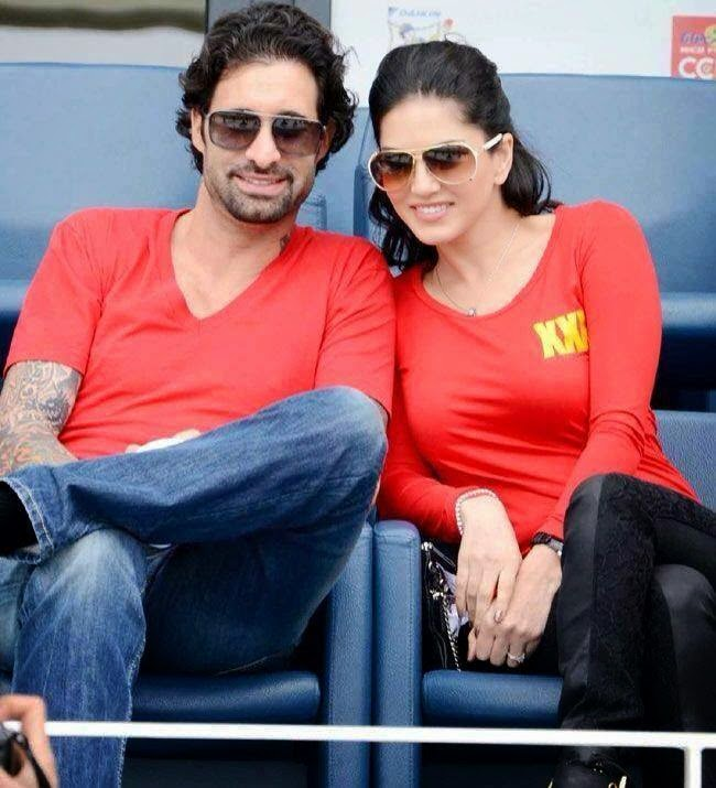 Sunny Leone With Her Husband Photo