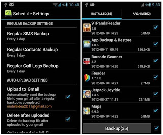 How To Beckup Apps For Android And android app store Link