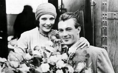 Gary Cooper y Verónica Balfe