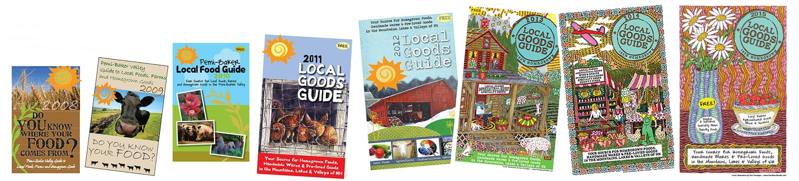 Local Goods Guides of the past!
