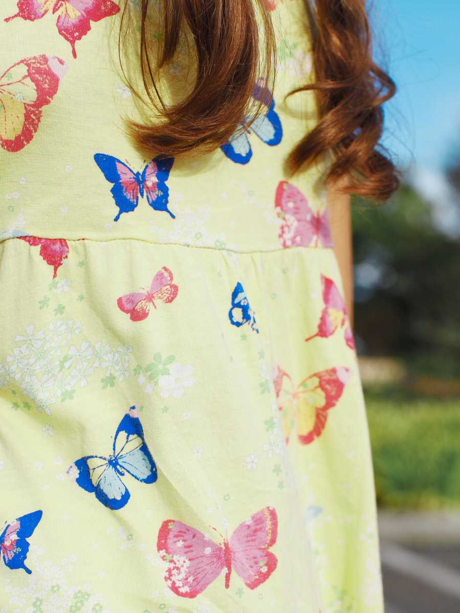Keep It Cool Butterfly Dress